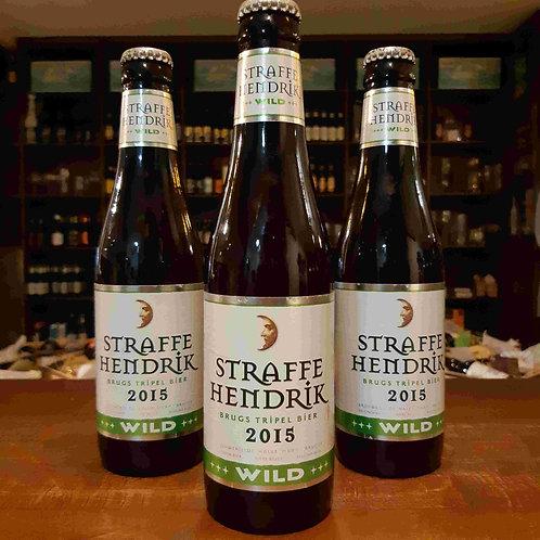 Cerveja Belga Straffe Hendrik Wild 2015 335ml - Safrada, envelhece em barril