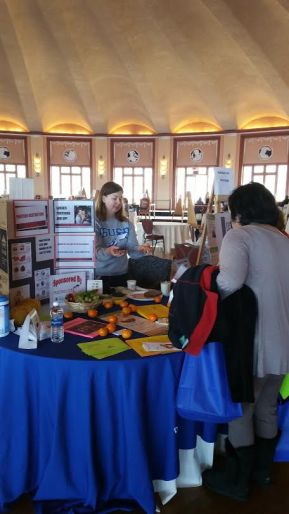 Catalina Health Fair display