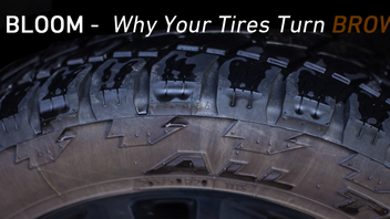 WHY DO MY TIRES TURN BROWN?