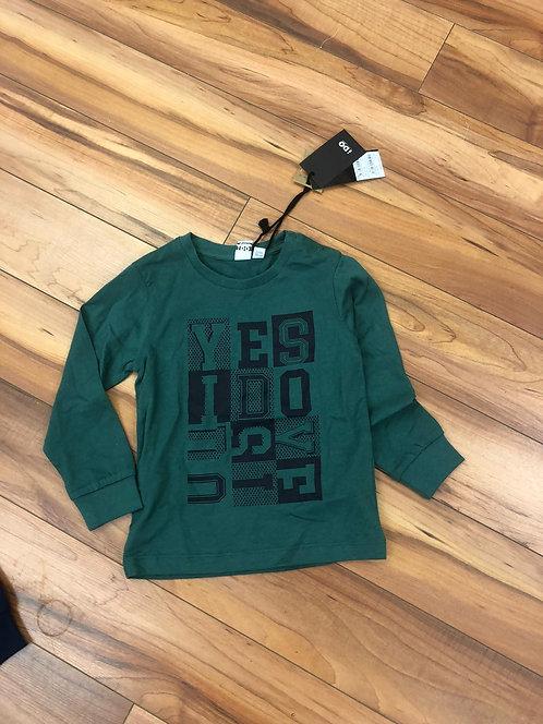 iDO - Green Long Sleeve Top