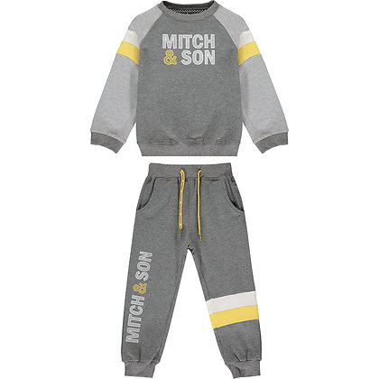 Mitch & Son Silas - Grey Tracksuit