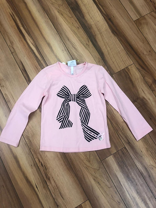 Le Chic - Pink Bow Top
