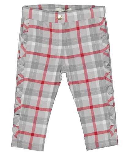 Birba - Grey Check Pants