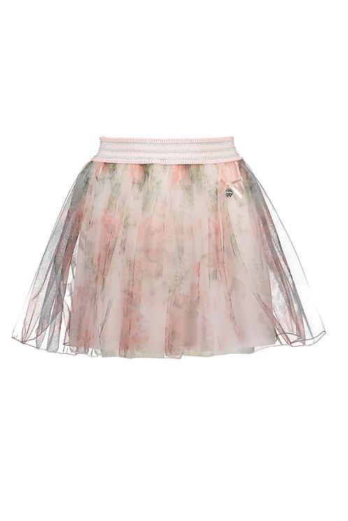 Le Chic - Pink Petticoat Roses Tule