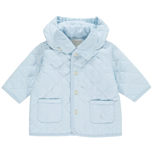 Curtis - Microfibre quilted Jacket with detachable hood