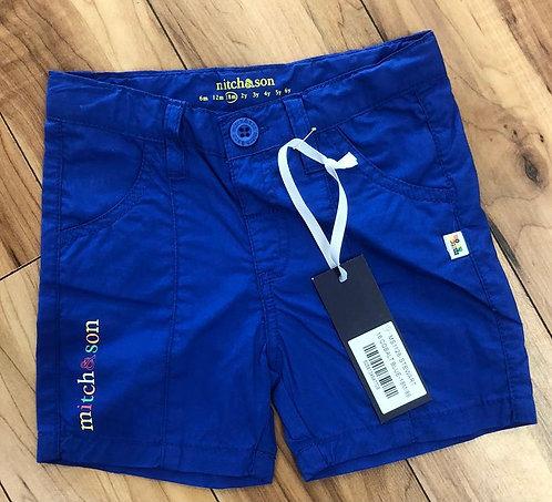 Mitch & Son - Stewart Cobalt Blue Shorts