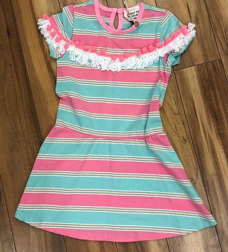 Mimpi - Pink Stripe Dress