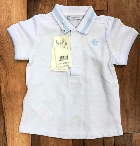 Tutto Piccolo - White Polo Shirt