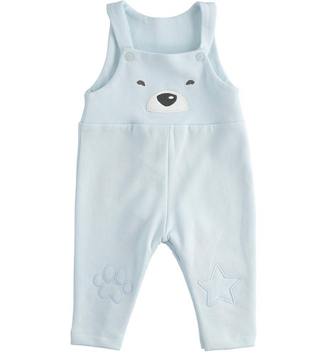 iDO - Sky Blue Knitted Dungarees