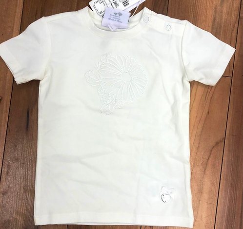 Le Chic White Flower Top