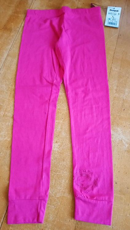 Desigual Bright Pink Leggings