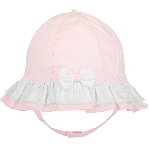 Gabby - Pink Lawn Sunhat