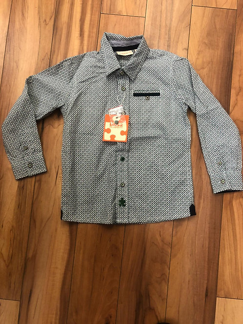UBS2- Green Pattern Shirt