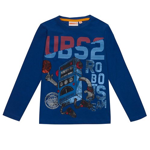 UBS2 - Boys Blue T-Shirt