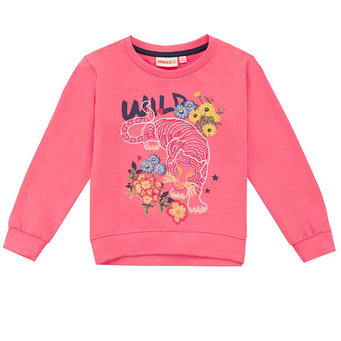 UBS2 - Girls Pink Sweater