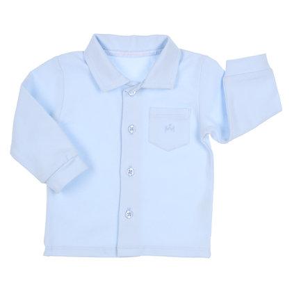 GYMP AERODOUX - Light Blue Jersey Shirt