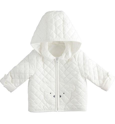 iDO - Cream Padded Jacket