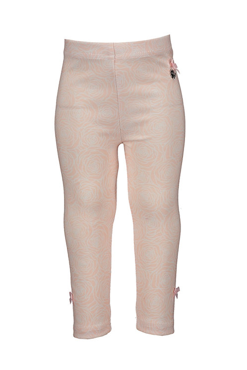 "Le Chic - Baby Pink Legging ""Field of Roses"""