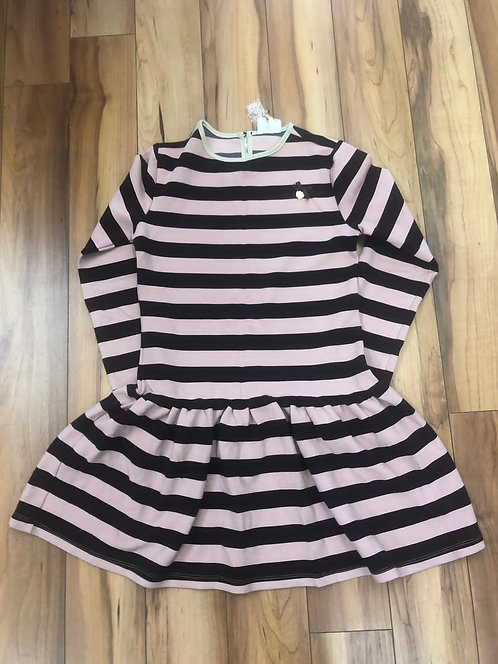 Le Chic - Stripe Long Sleeve Dress