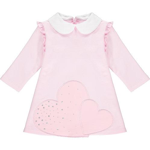 Little A - Arlene Large Heart Dress