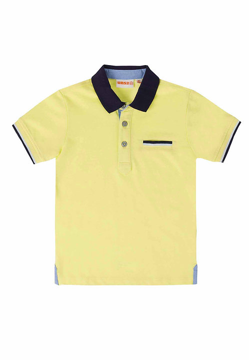UBS2 - Lemon Polo Shirt
