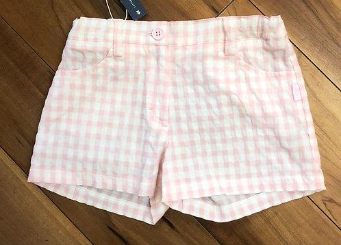Tutto Piccolo Pink Check Shorts