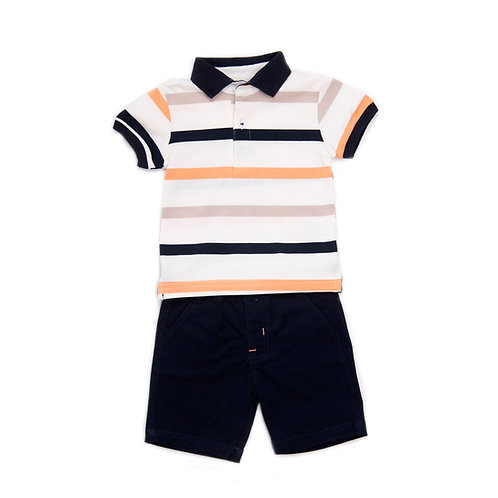 Babybol -Stripe T-Shirt & Shorts