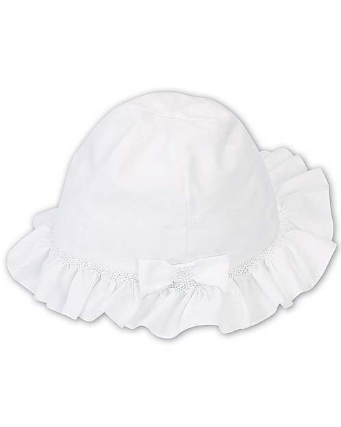 Sarah Louise - White Sun Hat