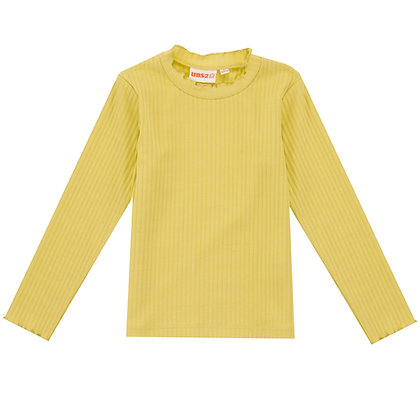 UBS2 - Girls Yellow Long-Sleeve T-Shirt