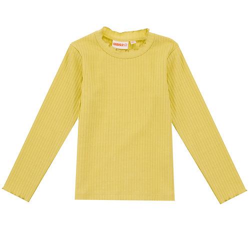 UBS2 - Girls Yellow Long-Sleeve T-Shirt