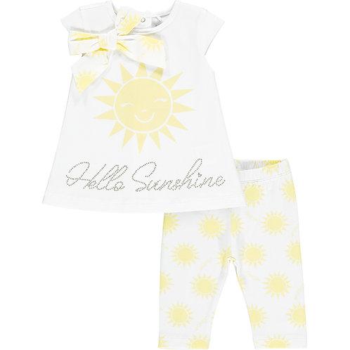 Little A - Kady Hello Sunshine Legging Set
