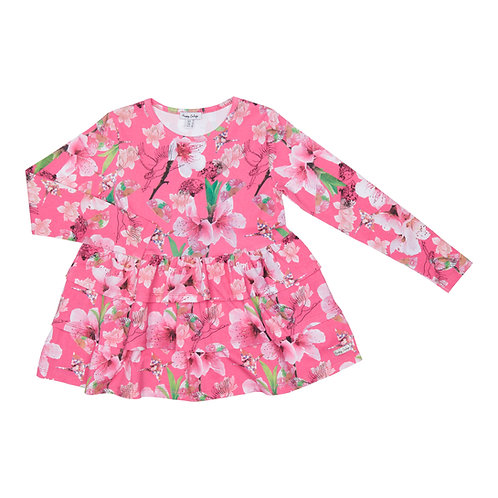 Happy Calegi - Pink Floral Tunic