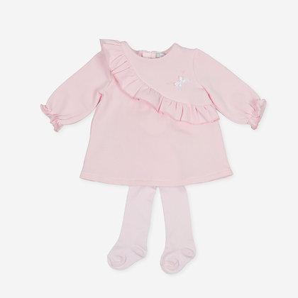 Tutto Piccolo Pixi - Pink Dress & Tights