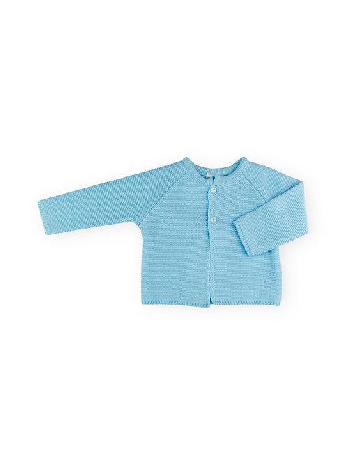 Sardon - Blue Knitted Cardigan