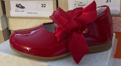 Leon Shoes -  Red Patent