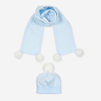 Tutto Piccolo Pixi - Blue Hat & Scarf Set