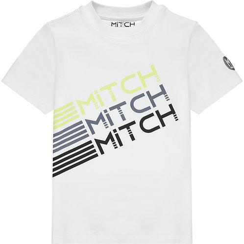 Mitch - Maryland White T-Shirt