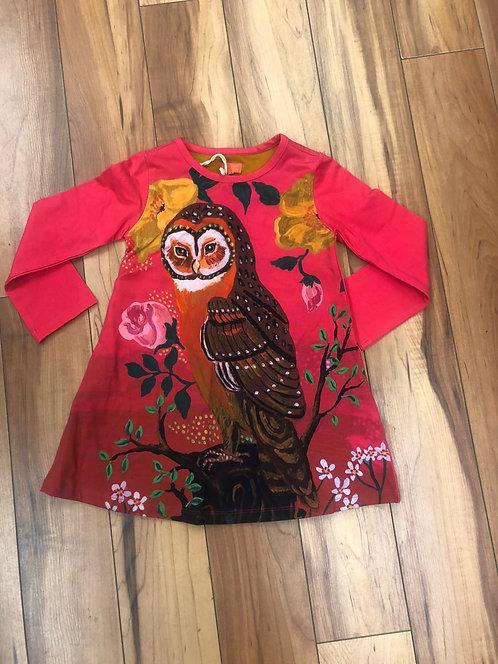 RoomSeven - Pink Owl Dress