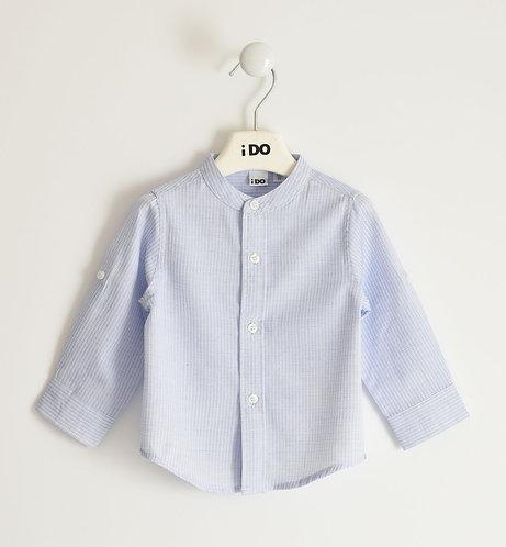 iDO -Blue Long Sleeved Shirt