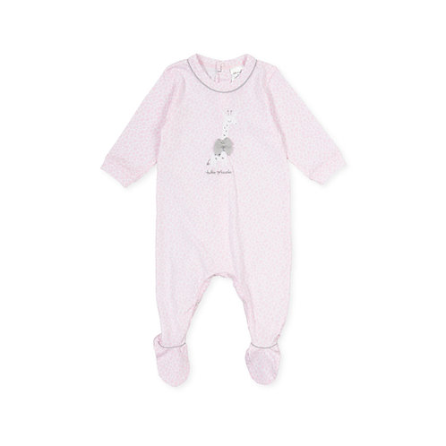 Tutto Piccolo -P.Bambuco Pink Babygrow