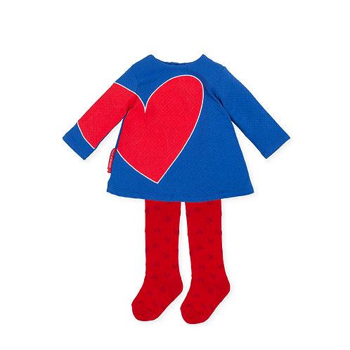 Agatha Ruiz de la Prada - P.Corazón Electric Blue Dress