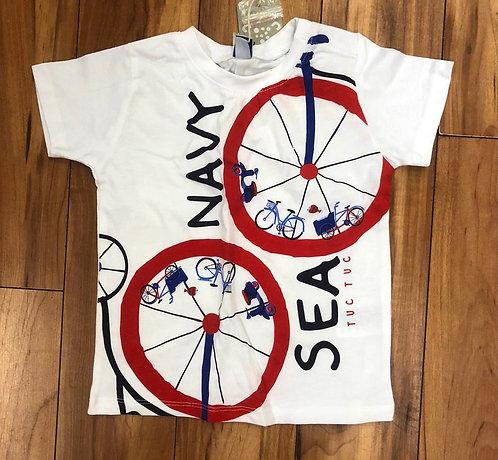 Tuc Tuc - Navy Sea White T-Shirt