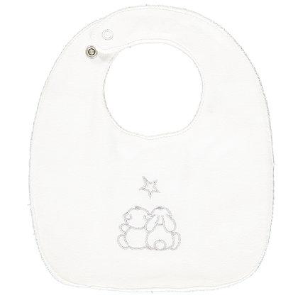 Teddie - Unisex small Gift Set 2 x star bibs & Toy