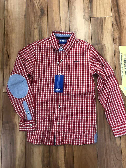 UBS2- Red Check Shirt