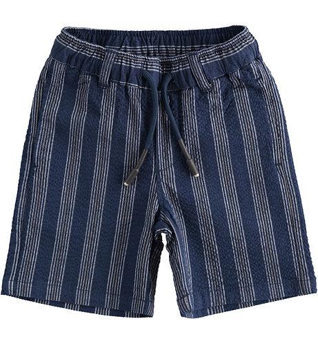 iDO - Navy Woven Shorts