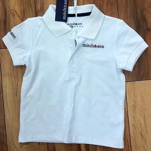 Mitch & Son - Payne White Polo Shirt