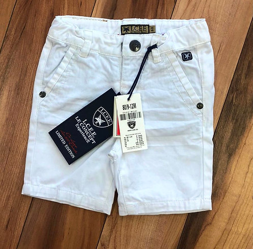 Le Chic White Shorts