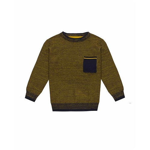 UBS2 - Boys Navy and Blue Sweater