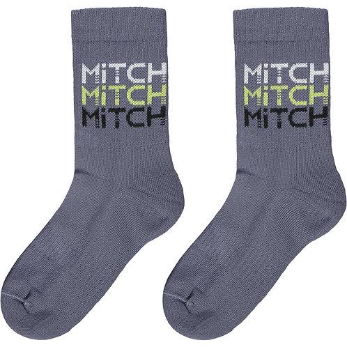 Mitch - Maine Grey Socks