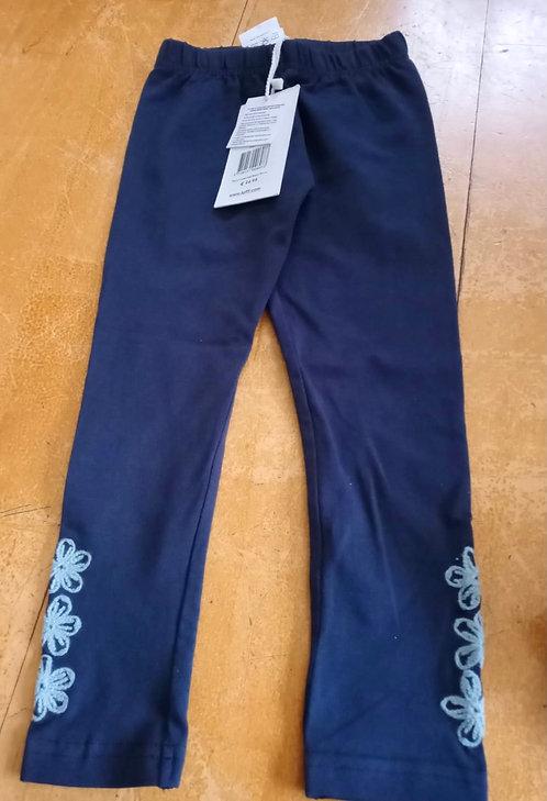 Lofff Dark Blue Leggings with Light Blue Detail